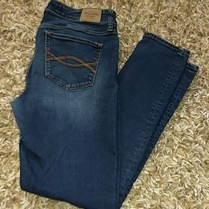 Abercrombie and Fitch Super Skinny Jeans Size 10 S
